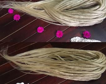 Double ended crochet dreadlocks, look like natural