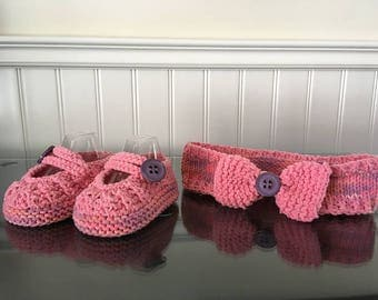 All banner and slippers
