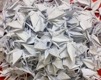500 origami paper cranes : you can choose in 18 colors