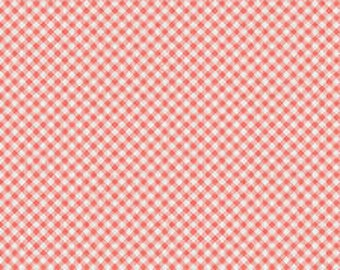 LES PETITS CHECK : Coral Art Gallery Fabric