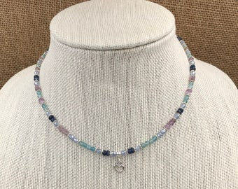 Self Love - gemstone and crystal necklace
