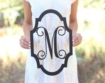 Personalized Rustic Wood Monogrammed Sign by Steven and Rae #BraggingBags (Item Number MHD20239)