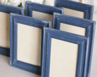 Shabby Chic Frames Rustic Distressed Paint SET OF 4 (item P10454)