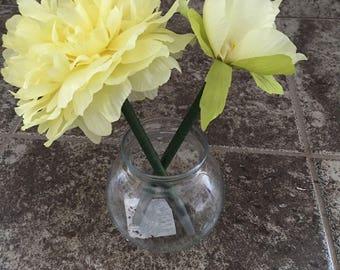 Lemon Kisses Flower Pens