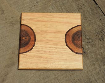 Wooden Divided Knot Dining Table Trivet