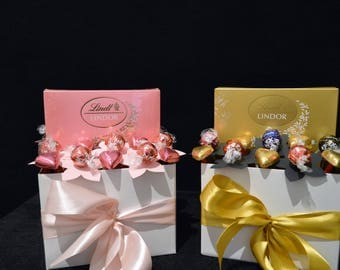 Chocolate Lindt Box Bouquet