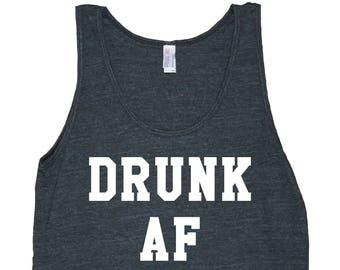 Drunk AF Men's American Apparel Tank Top