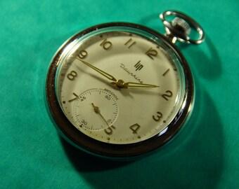 LIP Dauphine anti-shock year Pocket Watch 70' - mechanical with manual winding
