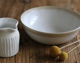 Sandscape Pasta Bowl - Wheel Thrown - Ceramic Bowl