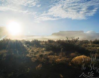 Digital Image/ Digital Download/ Moab/ Sunrise in Moab