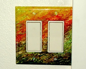 Fire Skies Light Switch Plate