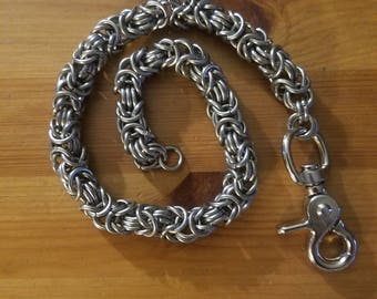 stainless steel wallet chain