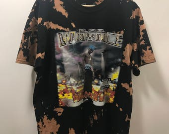 "Vintage bleached black Lil Wayne ""Tha Block Is Hot"" tee"