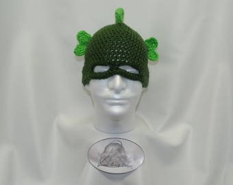 Half Mask Lizard Beanie