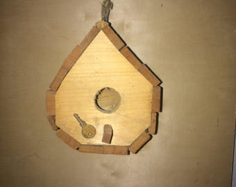 Tear Drop Birdhouse