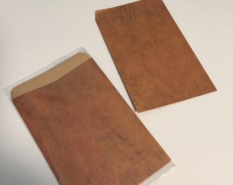 Vintage Envelopes | Brown | Gift | Bag