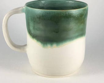 Green Porcelain Mug