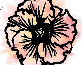 Hibiscus Print 04