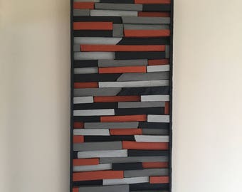 Reclaimed wall art