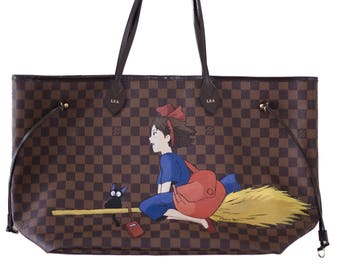 Luxurious Professional Bag Painting, Purse Painting, Leather painting, Completely Personalized