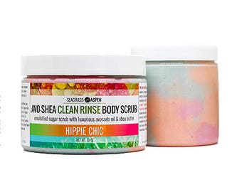 Avo-Shea Clean Rinse Sugar Scrub