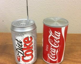 AM Coca-Cola radio, AM/FM Diet Coke Radio
