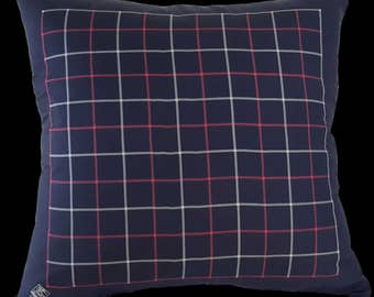 Plaid Silk Burberry's Pillow