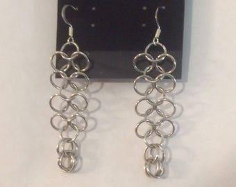 European 4-1 Earrings HANDMADE WITH LOVE