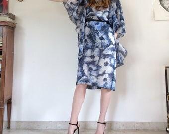 Pierre Cardin vintage pure silk dress size 44