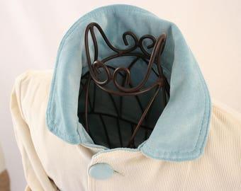 Baby jacket of corduroy and velvet, size 74/80