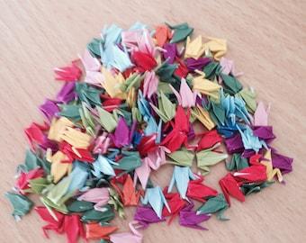 Tiny Origami Paper Cranes