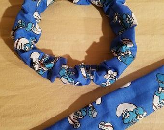 Smurfs Dog Collar Cover