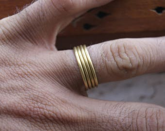 brass mens ring, brass ring for men, rustic brass ring, jewelry for men, brass man ring, brass rustic ring for men, brass rustic