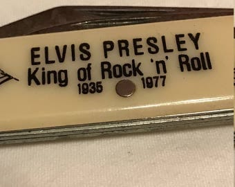 Vintage Elvis Presley pocket knife 1970's