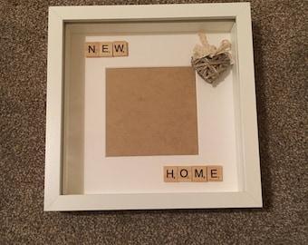 New home scrabble photoframe