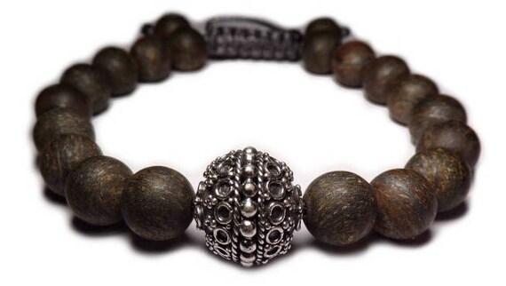 Shamballa bracelet brown