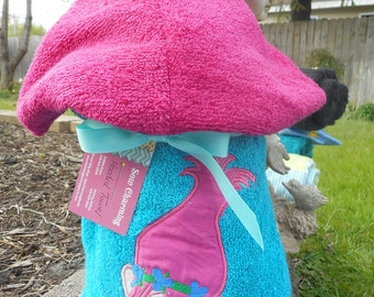 Troll hooded towel