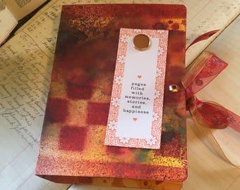 Mothers journal, junk journal, handmade journal