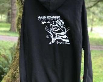 Old Crow Coffee hoodie