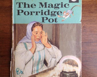 Vintage ladybird book The magic porridge pot 1970s Matt cover