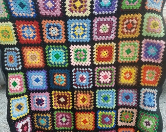 Vintage crochet blanket (1985)