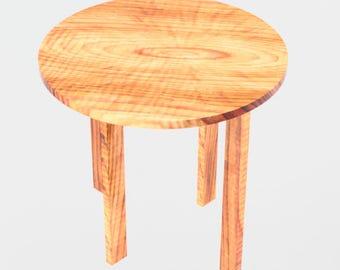 Simple flatpack side table