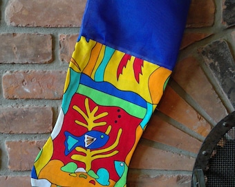 Unique Christmas stocking 030
