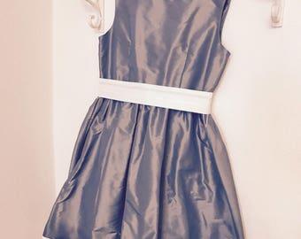 Dress girl taffeta prom dress