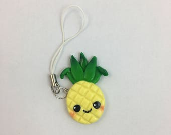 Pineapple Polymer Charm