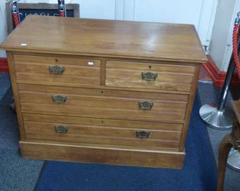 Beautiful Hand Built 2 over 2 Chest of drawers.