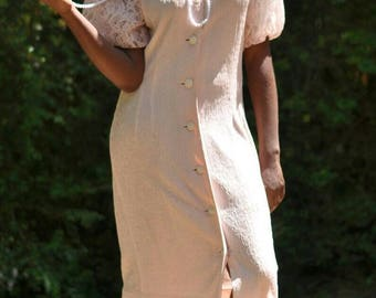 Lace and Pearls 80's inspired Dress