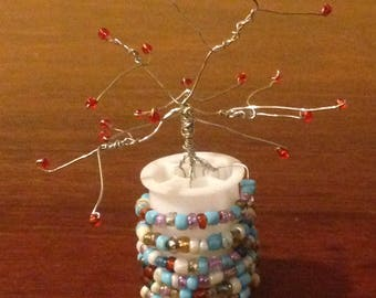 Wire bead tree
