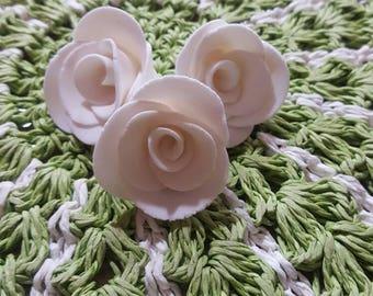 Mini Fondant Roses