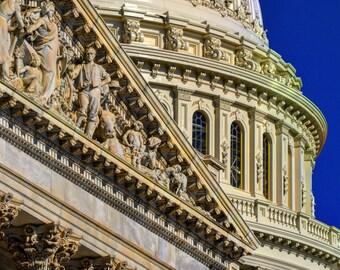 US Capitol Dome House of Representatives Washington DC